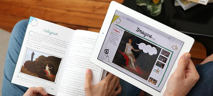 Ulysse à travers tous les arts dans un kit: une application, des activités et un livre pour les enfants