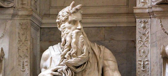 Moise raconté aux enfants par l'histoire de l'art activité culturelle pédagogique EAC