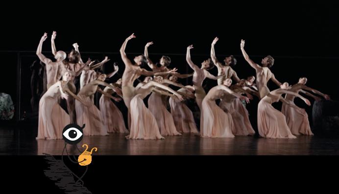 """Un photo du ballet """"Orphée"""" de Pina Bausch"""