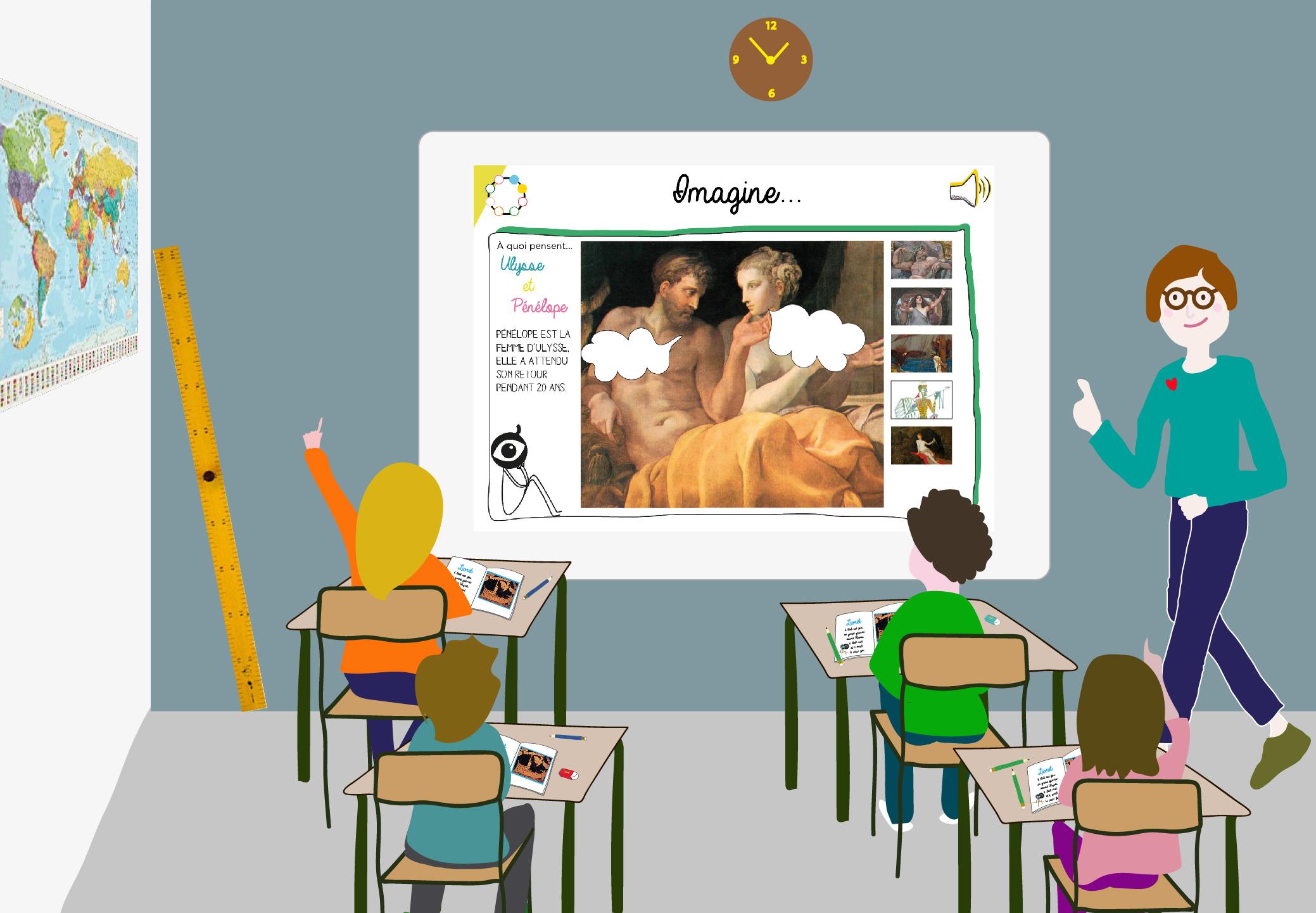 Initier les enfants à l'histoire de l'art !