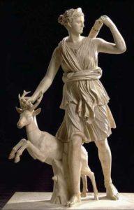 statue de diane artémis