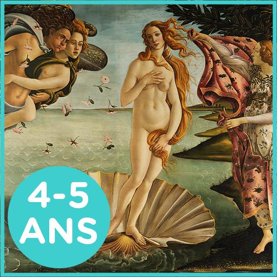 Atelier Aphrodite pour les 4-5 ans