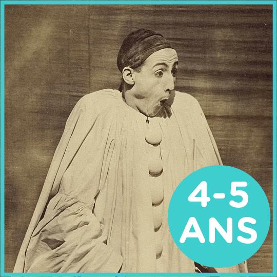 Atelier Pierrot pour les 4-5 ans